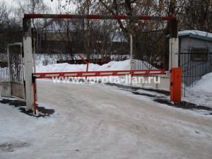 Система контроля доступа транспорта на территорию ГСК «Октябрь»