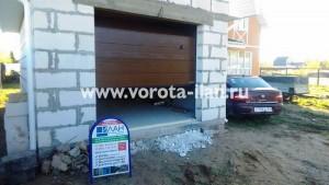 Объект с немецкими секционными гаражными воротами Hormann - 1