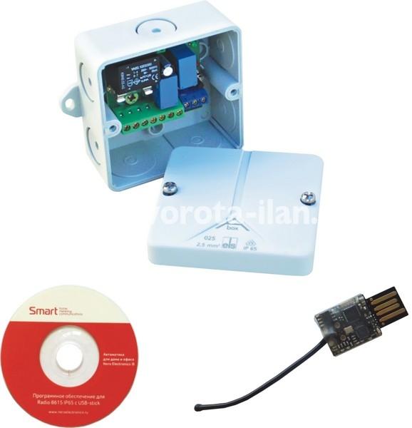 Радиоуправление одноканальное Radio 8615 IP65 с USB-stick для создания систем контроля доступа.jpg