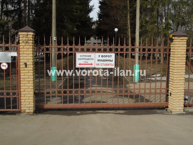 Ворота откатные_Ника_фото 3