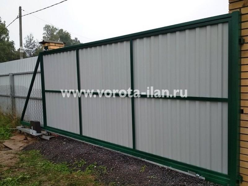 Чеховский район_деревня Скурыгино_откатные ворота изнутри_1.jpg