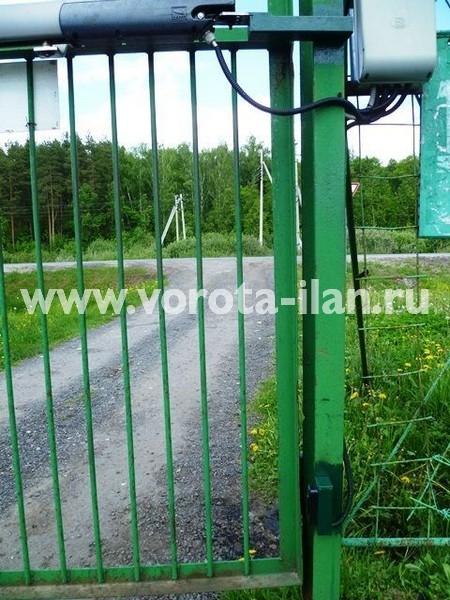 СНТ Беляево Чехов_автоматизация распашных ворот заказчика_2