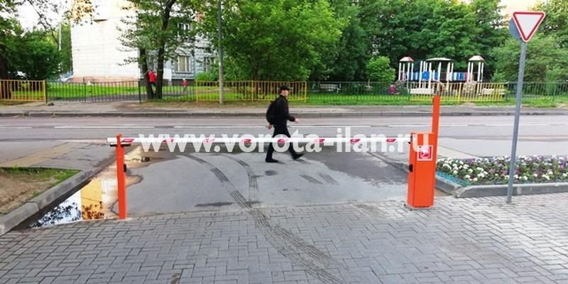 Москва_17й пр-д Марьиной Рощи д 1_подъёмный шлагбаум с антивандальной защитой_видеонаблюдение_фото 1
