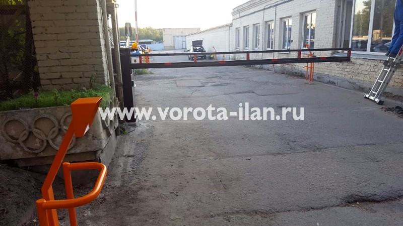 МО_аэропорт Шереметьево_шлагбаум откатной антивандальный АК4500 (АК4750)_фото 3