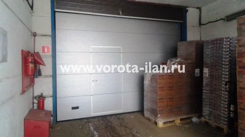 МО_Подольск_ворота автоматические промышленные секционные с валовым приводом ANMotors_1