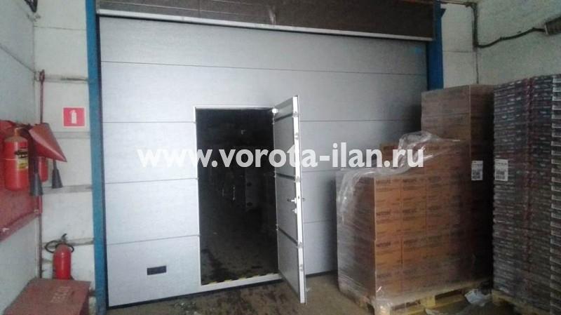 МО_Подольск_ворота автоматические промышленные секционные с валовым приводом ANMotors_2