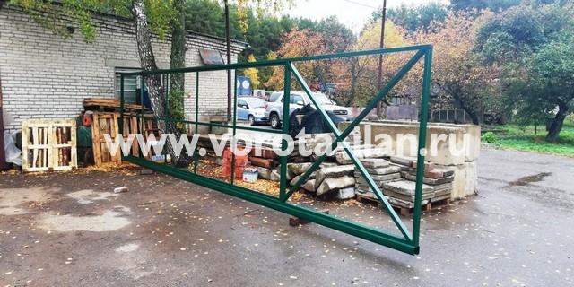 Ворота откатные 8х2м на ширину проезда 5,5м_без монтажа_2