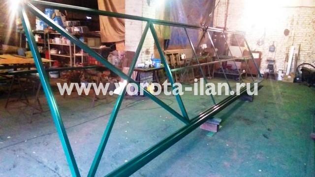 Ворота откатные 8х2м на ширину проезда 5,5м_без монтажа_3