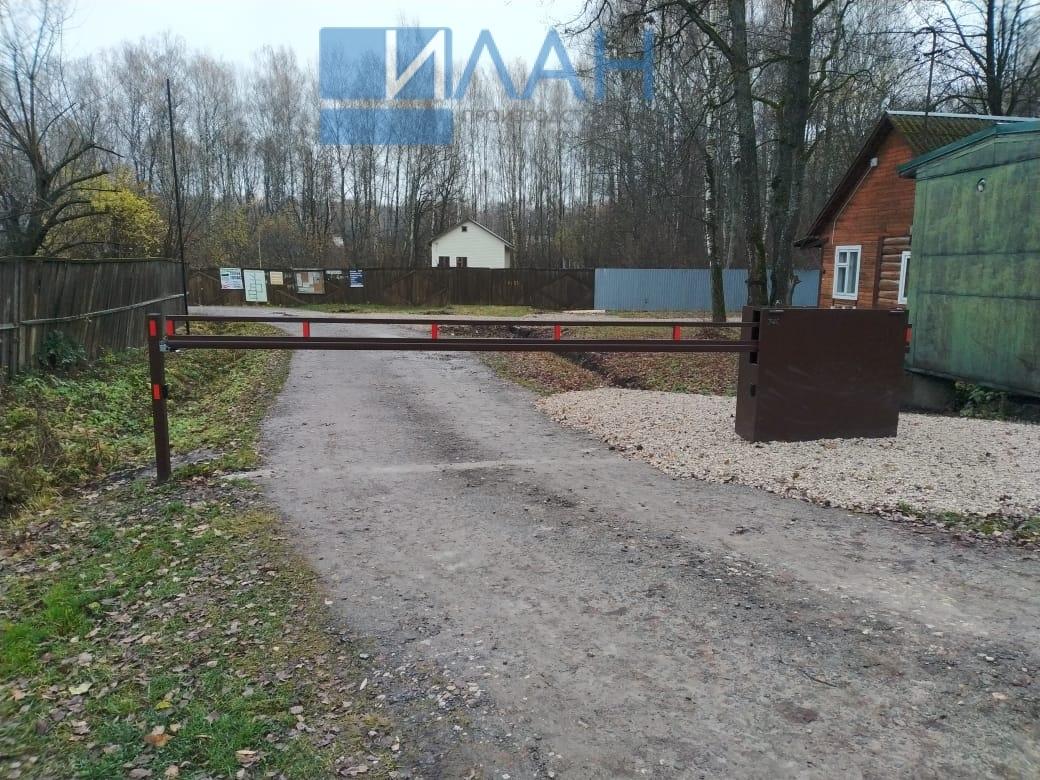 СНТ Союз , Заокский район, установка антивандального шлагбаума с электроприводом CAME BXL_фото 3