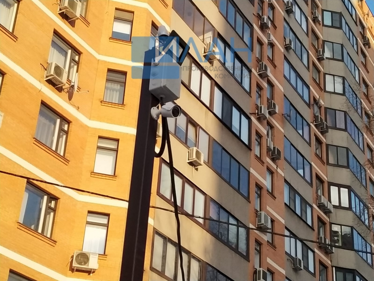 Усиленный автоматический шлагбаум с повышенной защитой от вандализма, облачной системой контроля доступа и удаленной диспетчеризацией на въезде на придомовую территорию МКД в Москве на ул. Профсоюзная, д. 94_фото 4