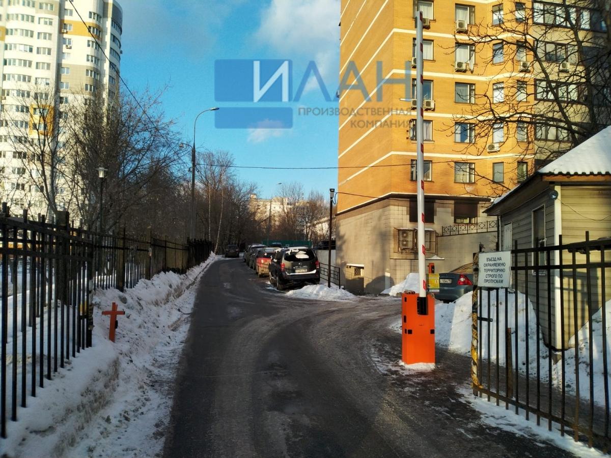 Усиленный автоматический шлагбаум с повышенной защитой от вандализма, облачной системой контроля доступа и удаленной диспетчеризацией на въезде на придомовую территорию МКД в Москве на ул. Профсоюзная, д. 94_фото 7