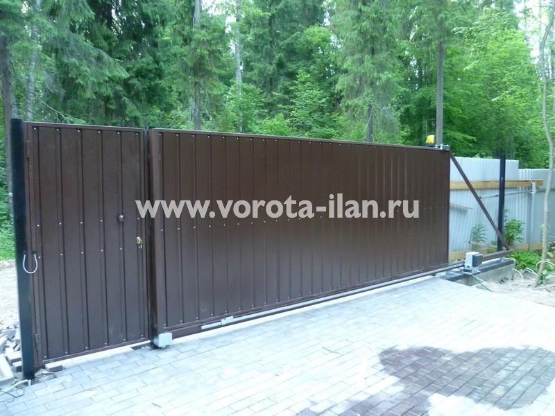 ворота откатные загородные_фото 6