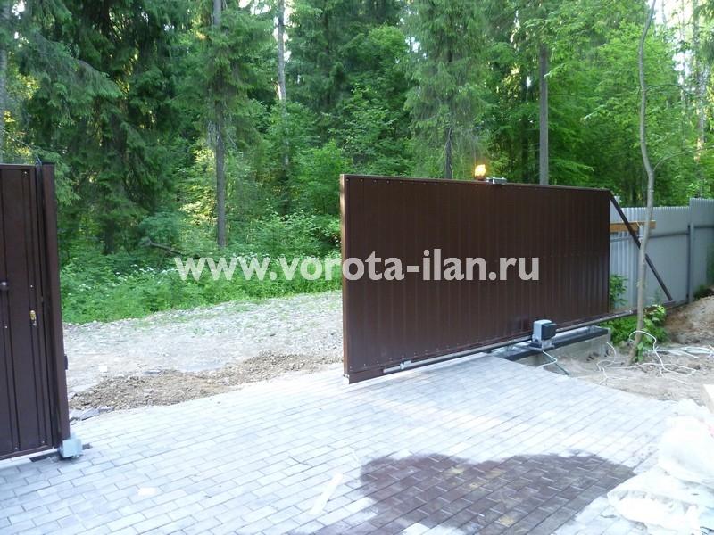 ворота откатные загородные_фото 3