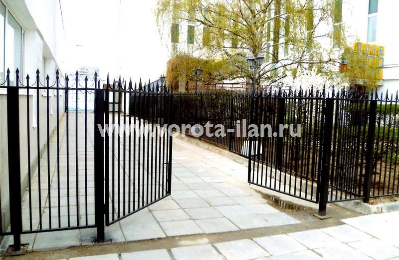 Ворота распашные_Москва_фото 3
