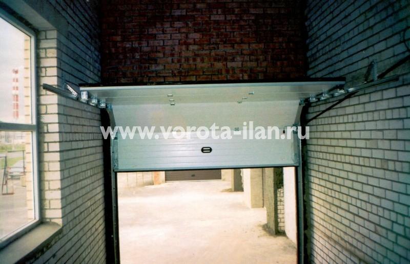 Ворота секционные гаражные_ГСК_фото 2