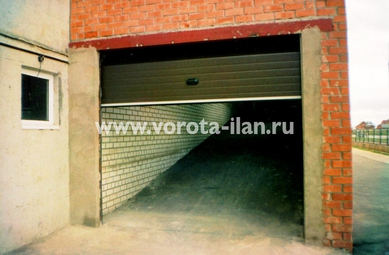 Ворота секционные гаражные_ГСК_фото 1