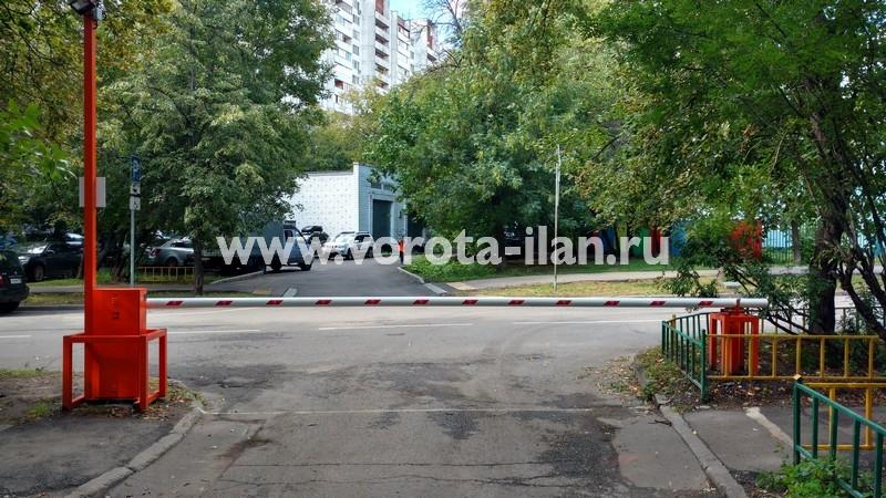 Москва_улица 3-я Новоостанкинская_шлагбаум подъёмный с системой диспетчеризации_фото 14