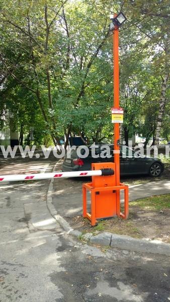 Москва_улица 3-я Новоостанкинская_шлагбаум подъёмный с системой диспетчеризации_фото 12