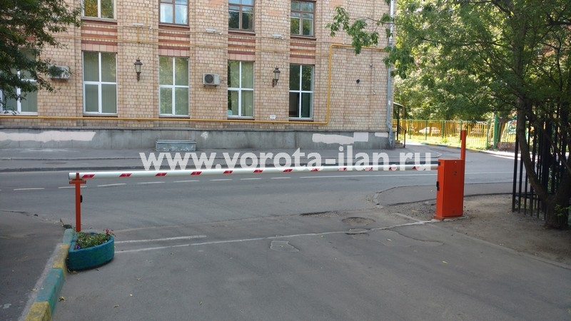 Москва_проспект Мира_шлагбаум подъёмный с защитой от вандализма_фото 1