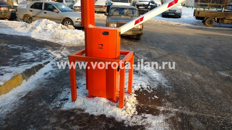 Москва_улица Вересаева_шлагбаум подъёмный с системой диспетчеризации_фото 15