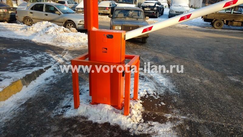 Москва_улица Вересаева_шлагбаум подъёмный с системой диспетчеризации_фото 14