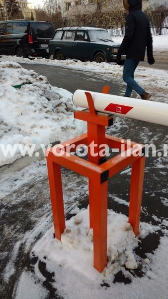 Москва_улица Вересаева_шлагбаум подъёмный с системой диспетчеризации_фото 5