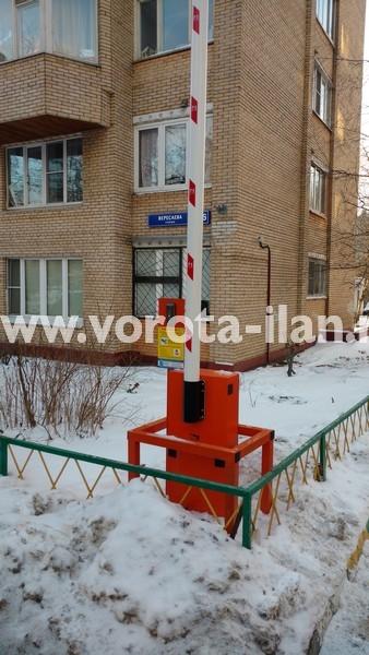 Москва_улица Вересаева_шлагбаум подъёмный с системой диспетчеризации_фото 4