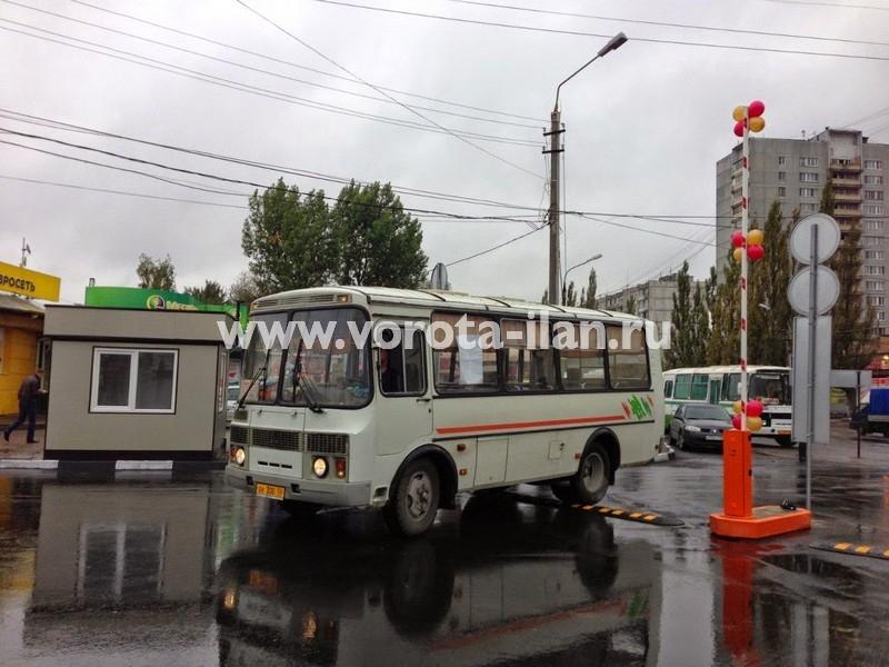 МО_город Серпухов_шлагбаум подъёмный на въезде на территорию автовокзала_фото 2