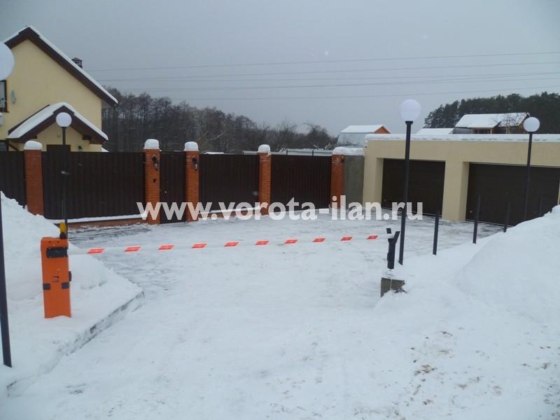 Деревня Вороново (Новая Москва) _шлагбаум подъёмный CAME G3750_фото 1
